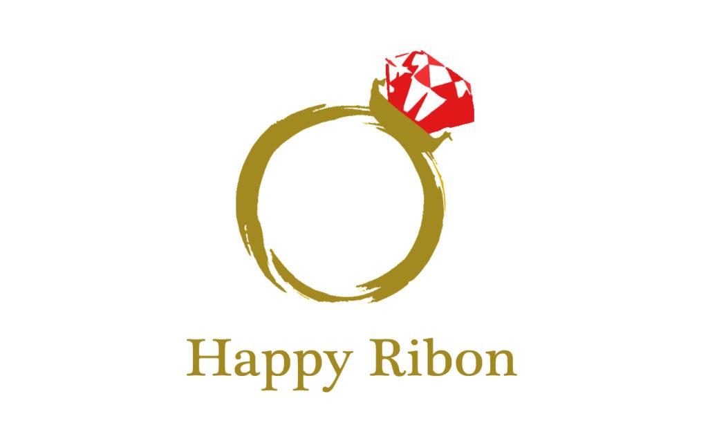 埼玉県越谷市の手作り結婚指輪。Happy Ribon